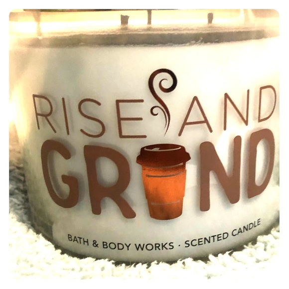 Bath & Body Works Other - Bath & Body Works Rise and Grind Candle